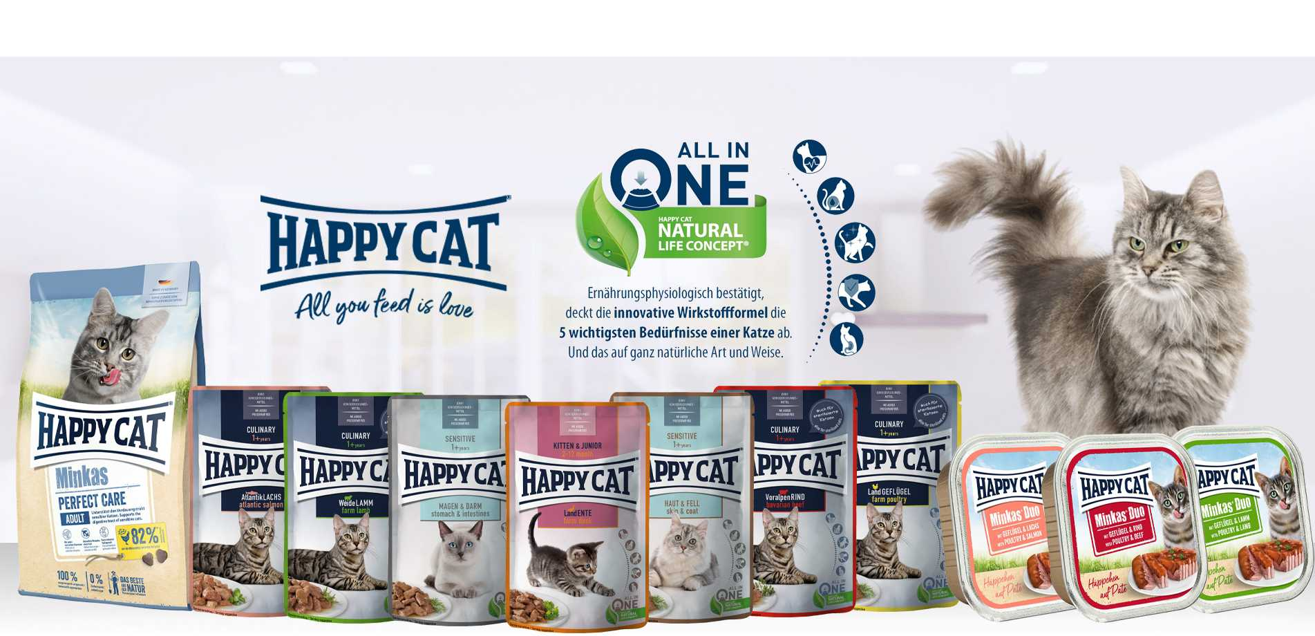 happy cat new products